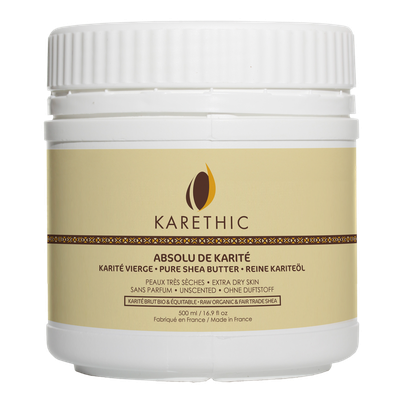 Absolu de Karité - Pure shea butter - unscented - maxi size - KARETHIC - Face - Body - Baby / Children - Diy ingredients