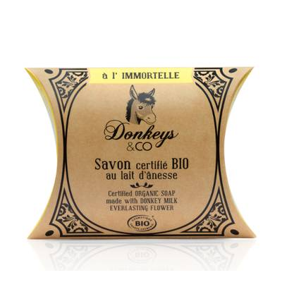 Savon IMMORTELLE - DONKEYS AND CO. - Hygiene