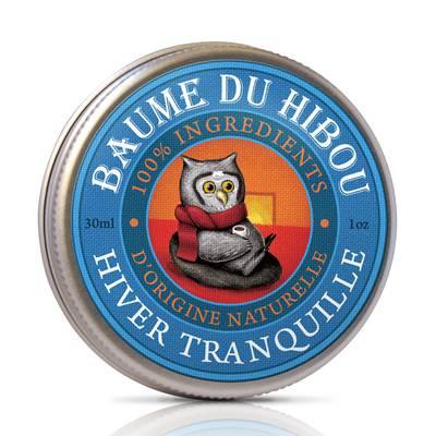 """QUIET WINTER BALM """"BAUME DU HIBOU"""" - LES BAUMES DU HIBOU - Massage and relaxation"""