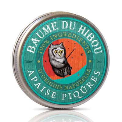 "BITES SOOTHING BALM ""BAUME DU HIBOU"" - LES BAUMES DU HIBOU - Massage and relaxation"