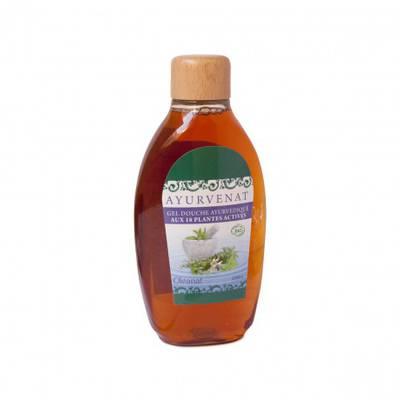 Gel douche ayurvedique aux 18 plantes - AYURVENAT - Hygiène