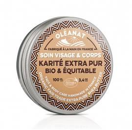 Beurre de karité extra pur - OLEANAT - Visage