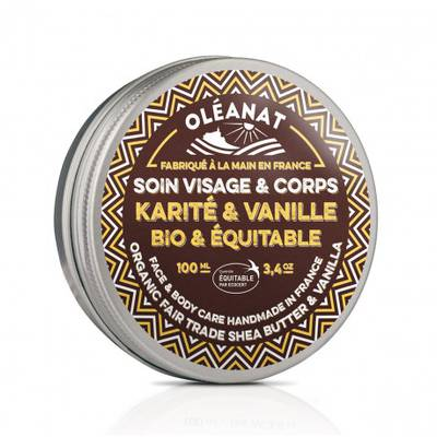 Shea butter vanilla - OLEANAT - Face