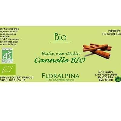 HE de Cannelle - Floralpina - Massage et détente