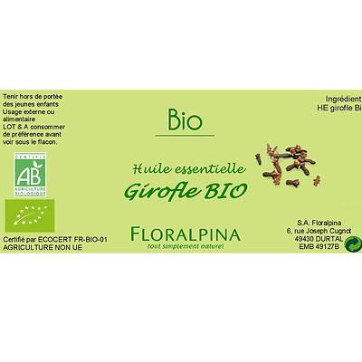 HE de Girofle - Floralpina - Massage et détente