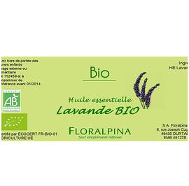 HE de lavande officinale - Floralpina - Massage and relaxation