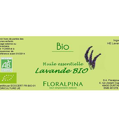 HE de lavande officinale - Floralpina - Massage et détente