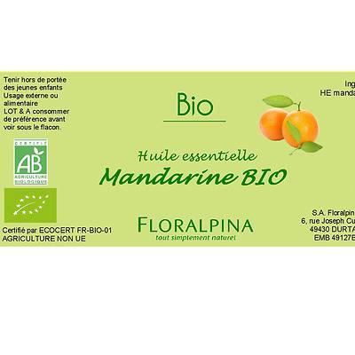 HE de Mandarine - Floralpina - Massage et détente