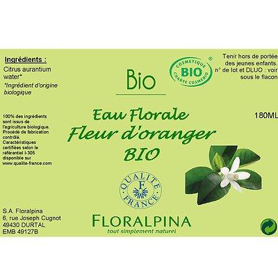 Eau Florale de fleur d'Oranger - Floralpina - Visage