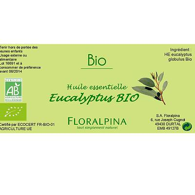 HE d'eucalyptus globulus - Floralpina - Massage and relaxation