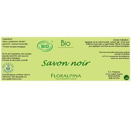 Savon noir - Floralpina - Hygiene