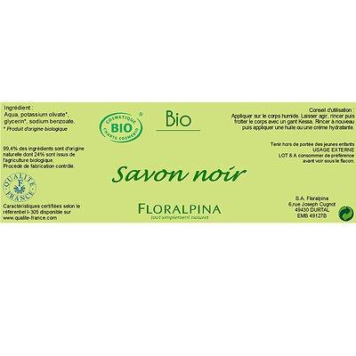 Savon noir - Floralpina - Hygiène