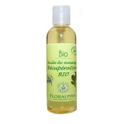 Huile de massage récupération - Floralpina - Massage et détente
