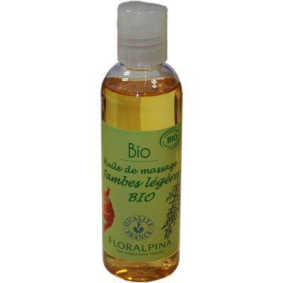 Huile de massage Jambes légères - Floralpina - Massage et détente