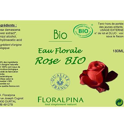 Eau florale de rose - Floralpina - Visage