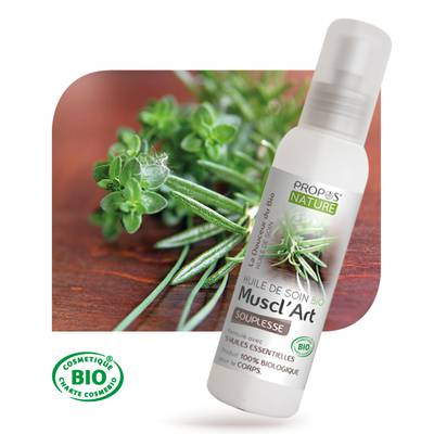 ORGANIC OIL CARE Muscl'Art - PROPOS NATURE - Body - Massage and relaxation