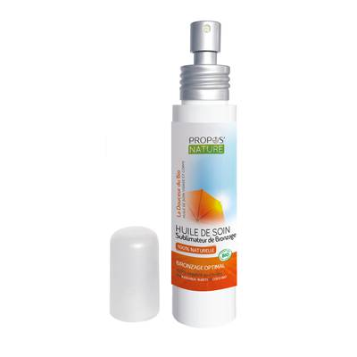 OIL CARE Suntan enhancer - PROPOS NATURE - Face - Body