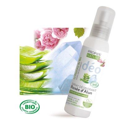 Spray déodorant Rosée d'Alun - PROPOS NATURE - Hygiène