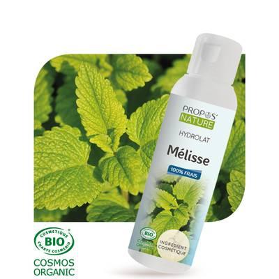 Hydrolat de Mélisse - PROPOS NATURE - Face - Diy ingredients