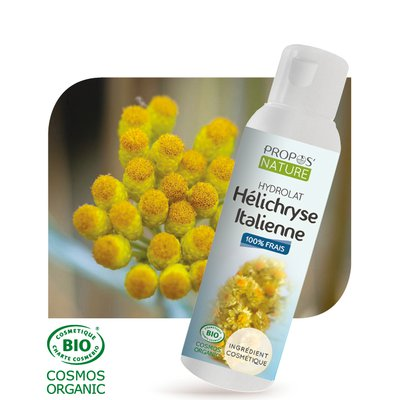 Hydrolat d'Hélichryse - PROPOS NATURE - Face - Diy ingredients
