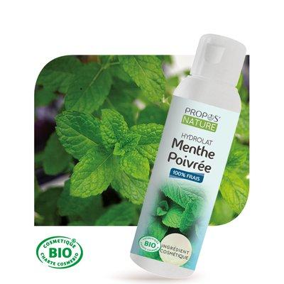 Hydrolat de Menthe Poivrée - PROPOS NATURE - Face - Diy ingredients