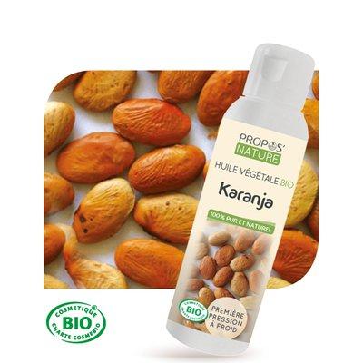 Huile végétale Karanja Bio - PROPOS NATURE - Ingrédients diy