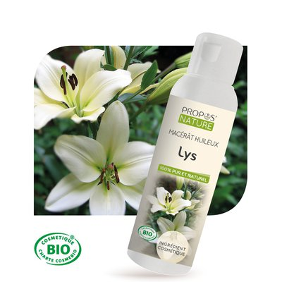 Macérât huileux Lys - PROPOS NATURE - Diy ingredients
