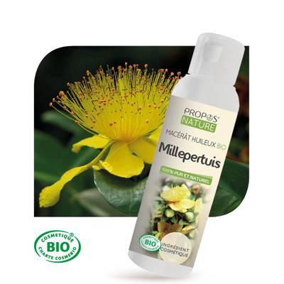 Macérât huileux Millepertuis Bio - PROPOS NATURE - Diy ingredients