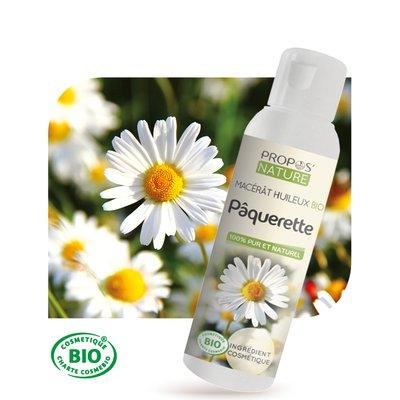 Macérât huileux Pâquerette Bio - PROPOS NATURE - Ingrédients diy