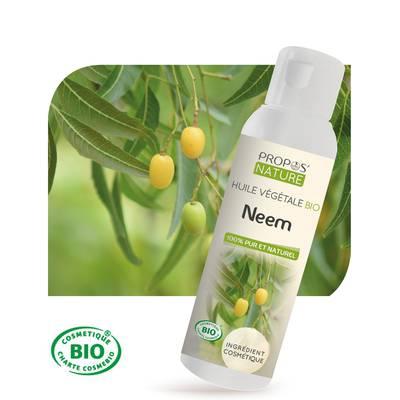 Huile végétale Neem Bio - PROPOS NATURE - Ingrédients diy
