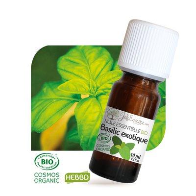 Huile essentielle Basilic exotique Bio - Joli'Essence - Diy ingredients