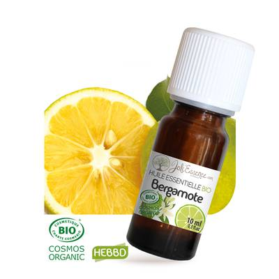 Huile essentielle Bergamote Bio - Joli'Essence - Ingrédients diy