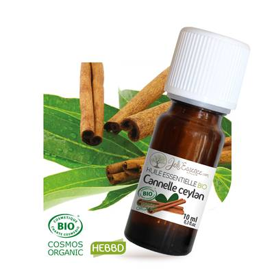 Huile essentielle Cannelle ceylan Bio - Joli'Essence - Diy ingredients