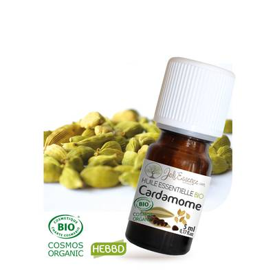 Huile essentielle Cardamome Bio - Joli'Essence - Diy ingredients