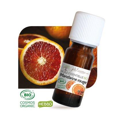 Huile essentielle Mandarine rouge Bio - Joli'Essence - Ingrédients diy