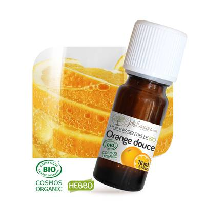 Huile essentielle Orange douce Bio - Joli'Essence - Diy ingredients