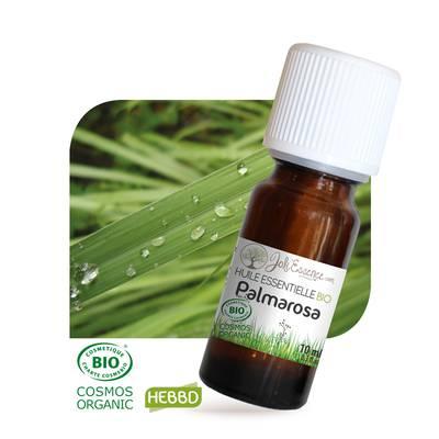 Huile essentielle Palmarosa Bio - Joli'Essence - Ingrédients diy