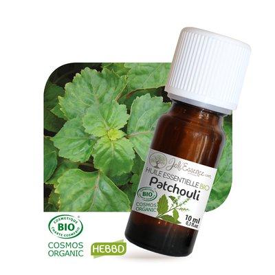 Huile essentielle Patchouli Bio - Joli'Essence - Ingrédients diy