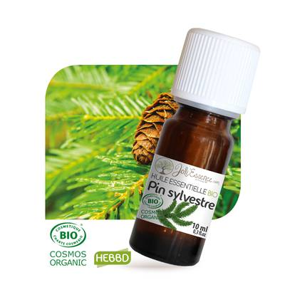 Huile essentielle Pin sylvestre Bio - Joli'Essence - Ingrédients diy