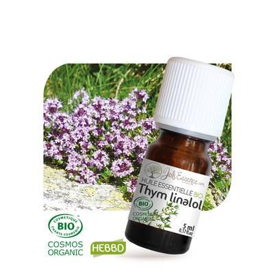Huile essentielle Thym à linalol Bio - Joli'Essence - Ingrédients diy