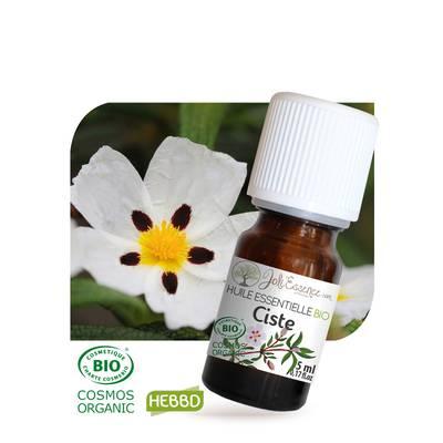 Huile essentielle Ciste Bio - Joli'Essence - Diy ingredients