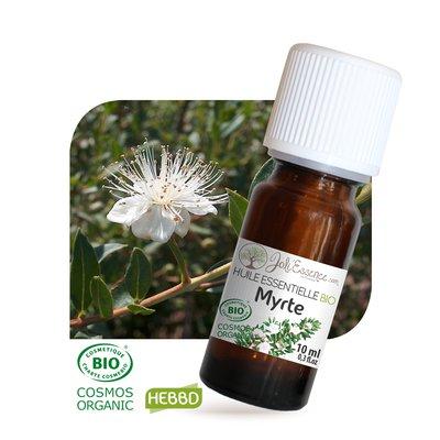 Huile essentielle Myrte rouge Bio - Joli'Essence - Ingrédients diy