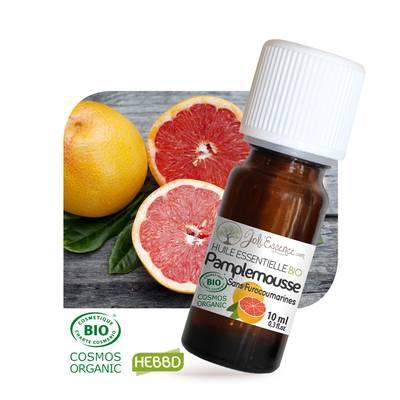Huile essentielle Pamplemousse sans furocoumarines Bio - Joli'Essence - Ingrédients diy