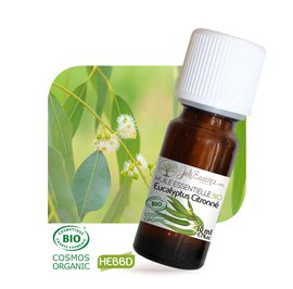 image produit Huile essentielle eucalyptus citronné bio