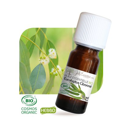 Huile essentielle Eucalyptus citronné Bio - Joli'Essence - Ingrédients diy