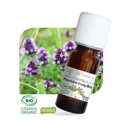 Huile essentielle marjolaine à coquilles bio - Joli'Essence - Diy ingredients