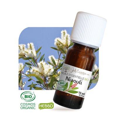 Huile essentielle Niaouli Bio - Joli'Essence - Ingrédients diy