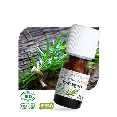 Huile essentielle Estragon Bio - Joli'Essence - Diy ingredients