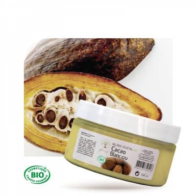 Beurre végétal de Cacao blanc cru - Joli'Essence - Diy ingredients