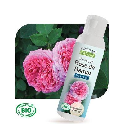 Hydrolat de Rose Damas - PROPOS NATURE - Visage - Ingrédients diy
